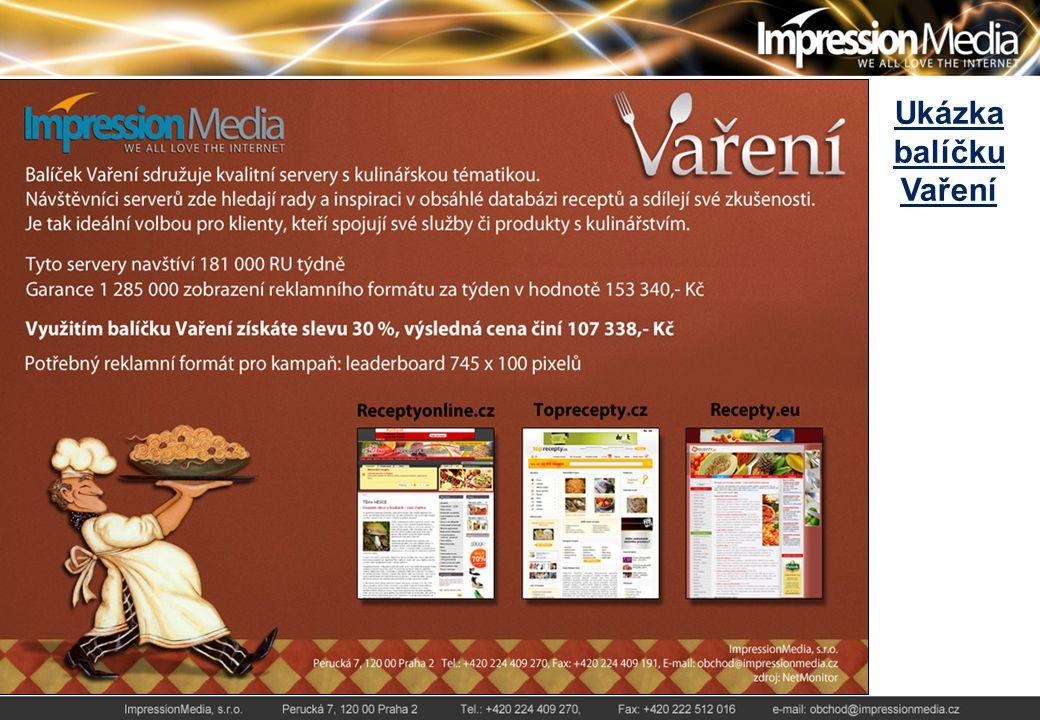 Náhledy nestandardních reklamních formátů Skin serverů Autoweb.cz a Femina.cz