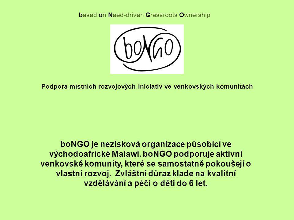 Poloha Malawi Projekty boNGO v Malawi