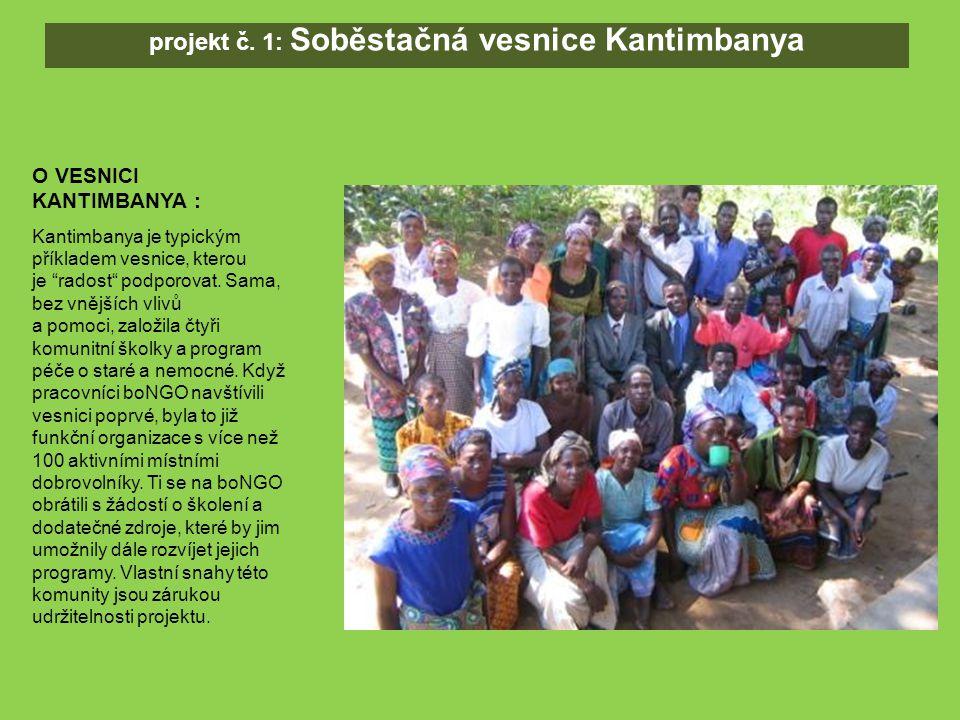SOUČASNÁ SITUACE : Za podpory boNGO Kantimbanští dobrovolníci vystavěli kukuřičný mlýn.