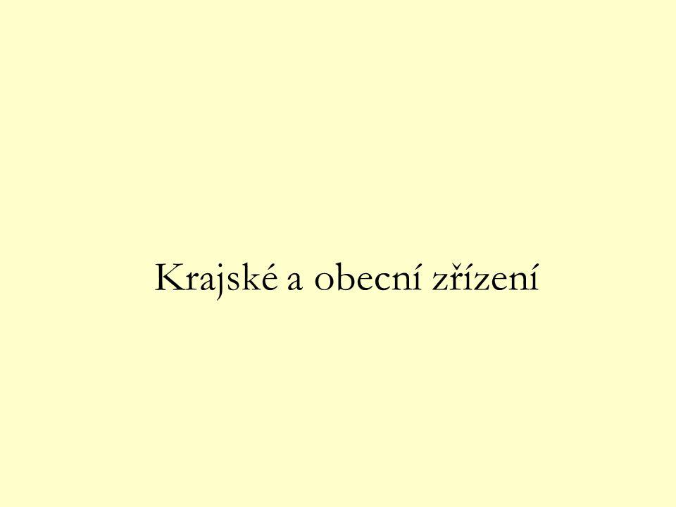 ÚSTAVA ČR HLAVA SEDMÁ - ÚZEMNÍ SAMOSPRÁVA Čl.