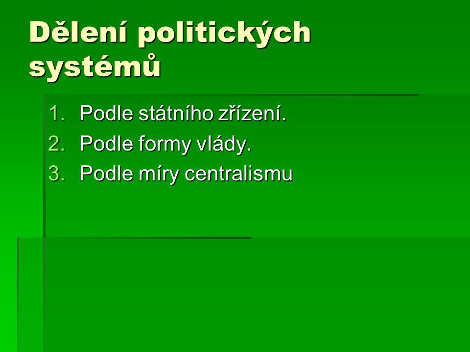 Forma vlády: komunistická  Formálně jsou republikami.
