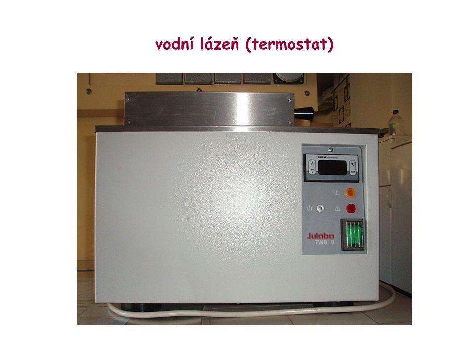 vodní lázeň (termostat)
