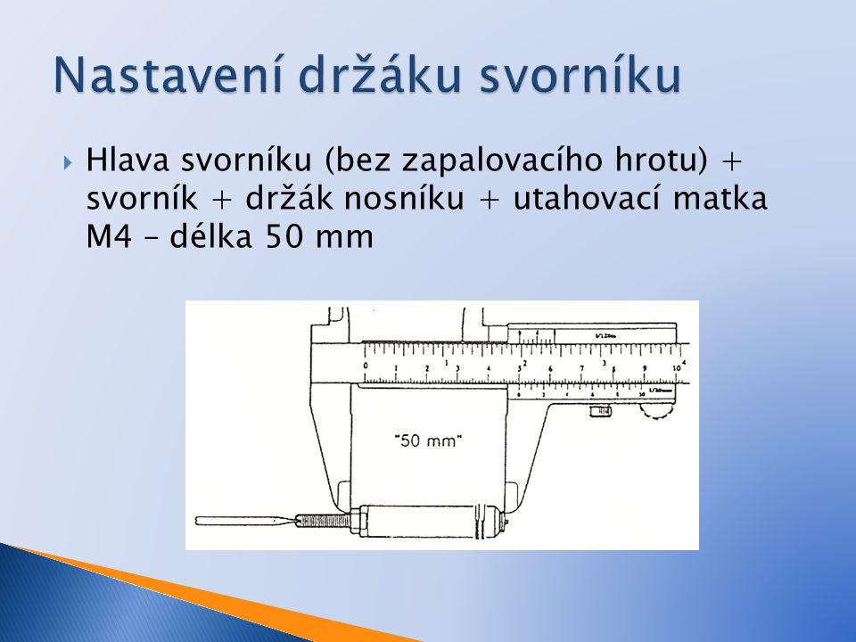  Vzduchem chlazená  Ruční nebo pneumatické ovládání  Jednoduchá manipulace