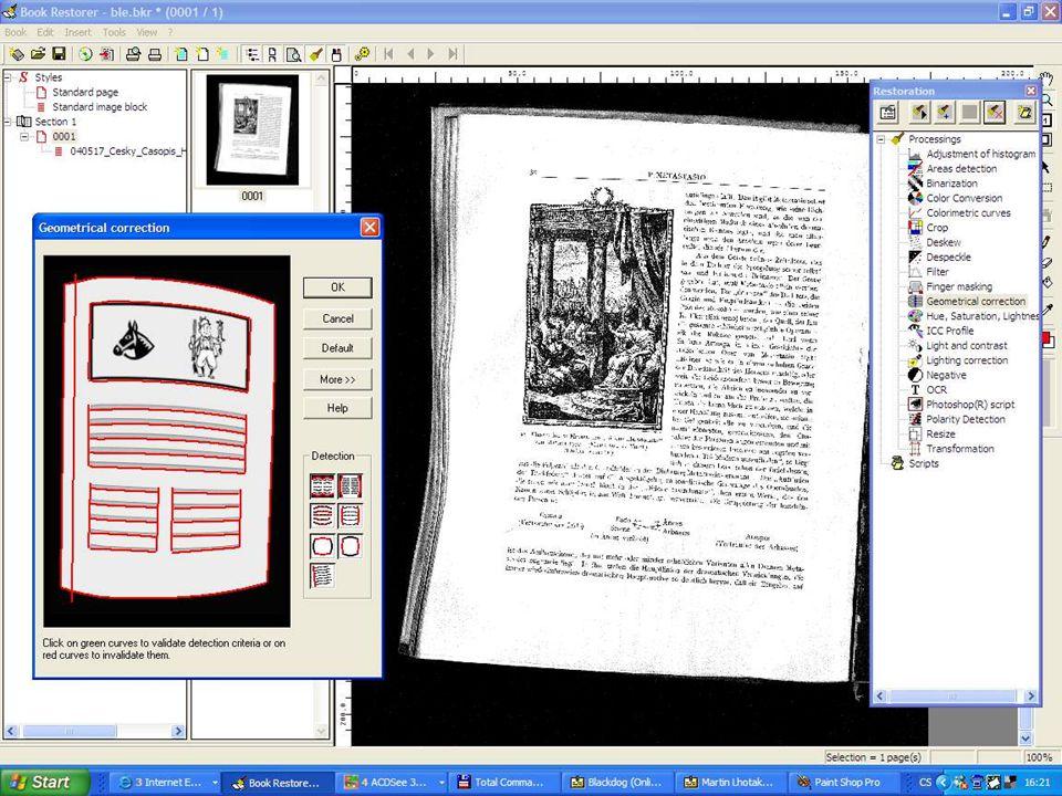 21. června 2007 Digitalizace knihovních fondů - praktické postupy, Martin Lhoták, KNAV 16