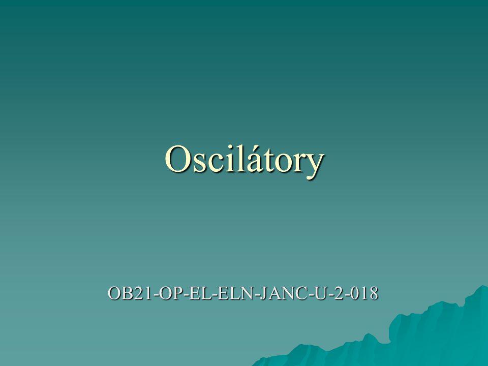 Oscilátory OB21-OP-EL-ELN-JANC-U-2-018