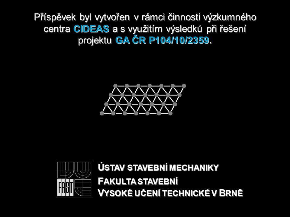 Příspěvek byl vytvořen v rámcičinnosti výzkumného centra CIDEAS a s využitím výsledků při řešení projektu GA ČR P104/10/2359.