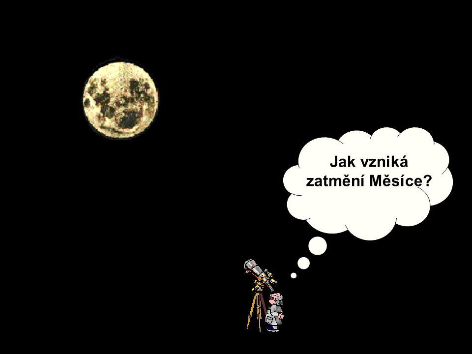 Jak vzniká zatmění Měsíce?