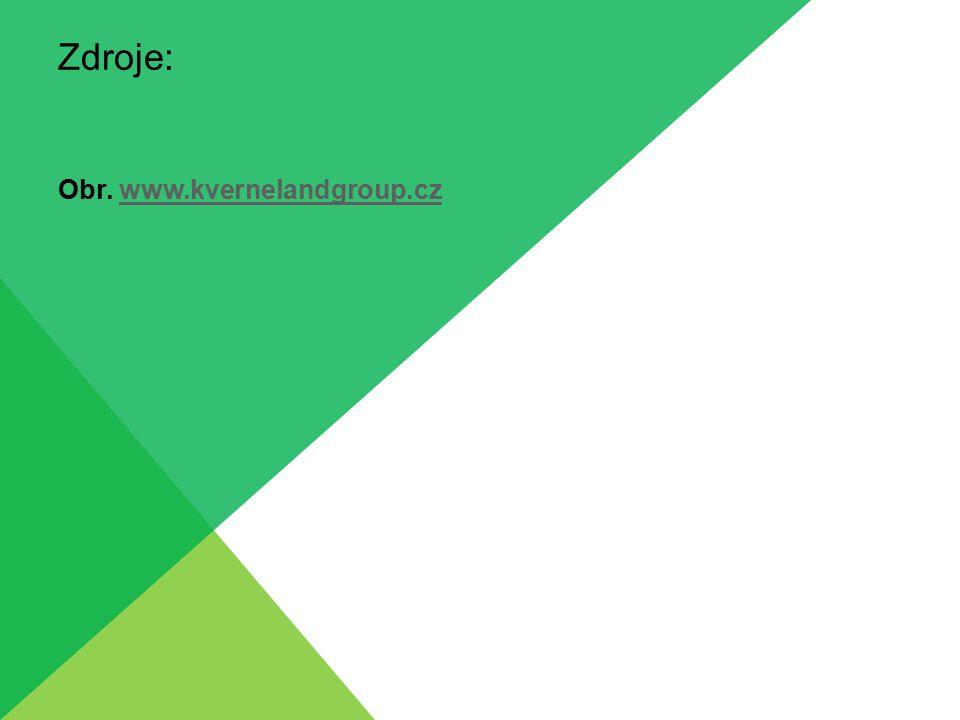 Zdroje: Obr. www.kvernelandgroup.czwww.kvernelandgroup.cz