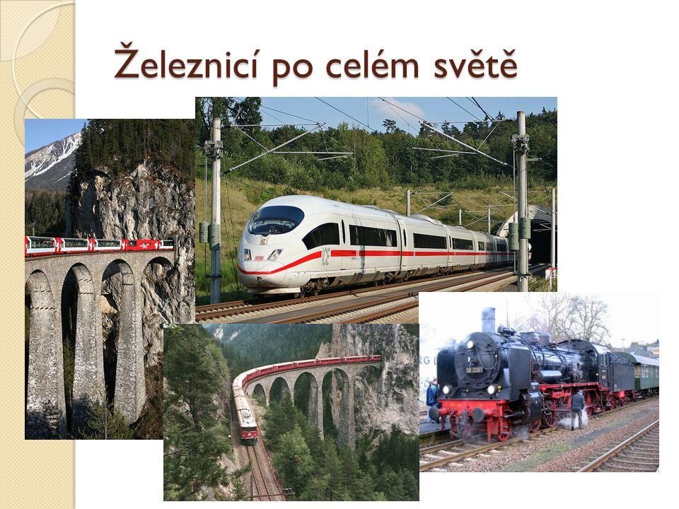 Železnicí po celém světě
