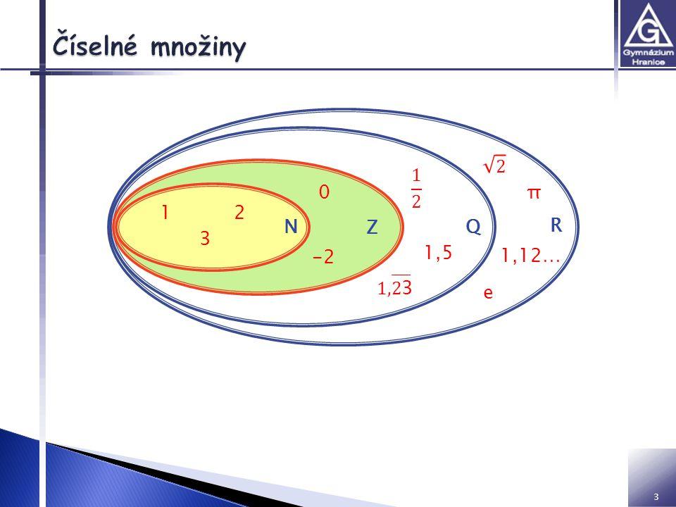 Vyjadřují počet: 1, 2, 3,…  Rozvinutý zápis čísla v desítkové číselné soustavě: ◦ 15078 = 1.10 4 +5.10 3 +0.10 2 +7.10 1 +8.10 0  Dělitelnost čísla- kritéria dělitelnosti: ◦ 2 ◦ 3 ◦ 4 ◦ 5 ◦ 6 ◦ 8 ◦ 9 ◦ 10 4 2… sudé číslo 3… ciferný součet 4… poslední dvojčíslí dělitelné 4 5… končí 5 nebo 0 6… dělitelný 2 a 3 současně 8… poslední trojčíslí dělitelné 8 9… ciferný součet 10… končí 0 Určete jednociferné dělitele čísla 228: 1, 2, 3, 4, 6, Výsledky