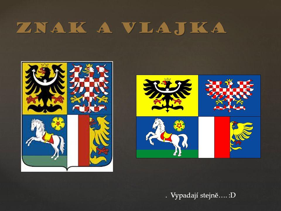 Znak a vlajka. Vypadají stejně…. :D