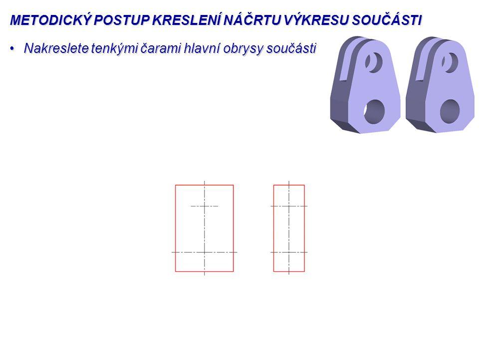© Ing. Ivana Linkeová, Ph.D., doc. Ing. František Novák, CSc., Gradient, Praha, 2004, ISBN 80-86786-01-3 METODICKÝ POSTUP KRESLENÍ NÁČRTU VÝKRESU SOUČ