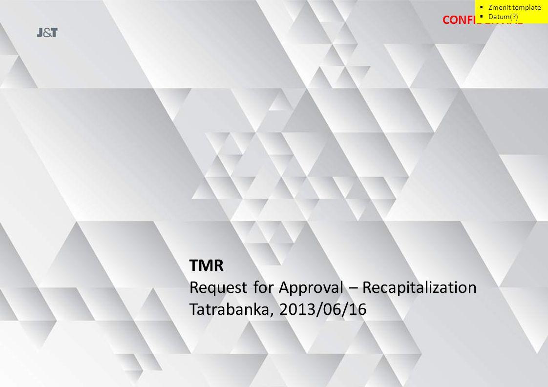 Both projected 2013 – 2020 Cash Flow … 12 MANAGEMENT CASE 4 RECAPITALIZATION