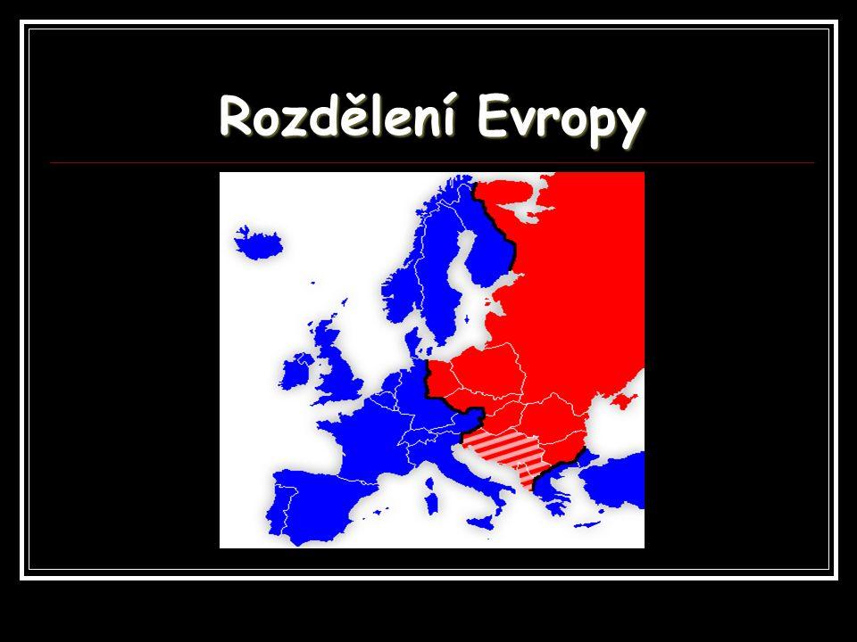 Rozdělení Evropy