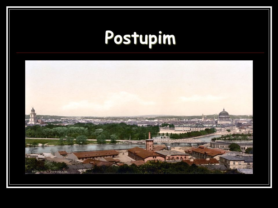 Postupim