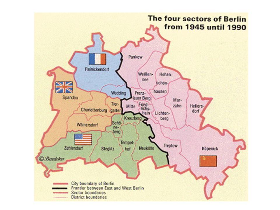 PROGRAM,,4D Program týkající se Německa D emilitarizace – rozpuštění armády D enacifikace – odvolání nacistů z úřadů, zrušení NSDAP D emokratizace – zavedení demokracie D emonopolizace – zavření továren, které se podílely na zbrojním průmyslu