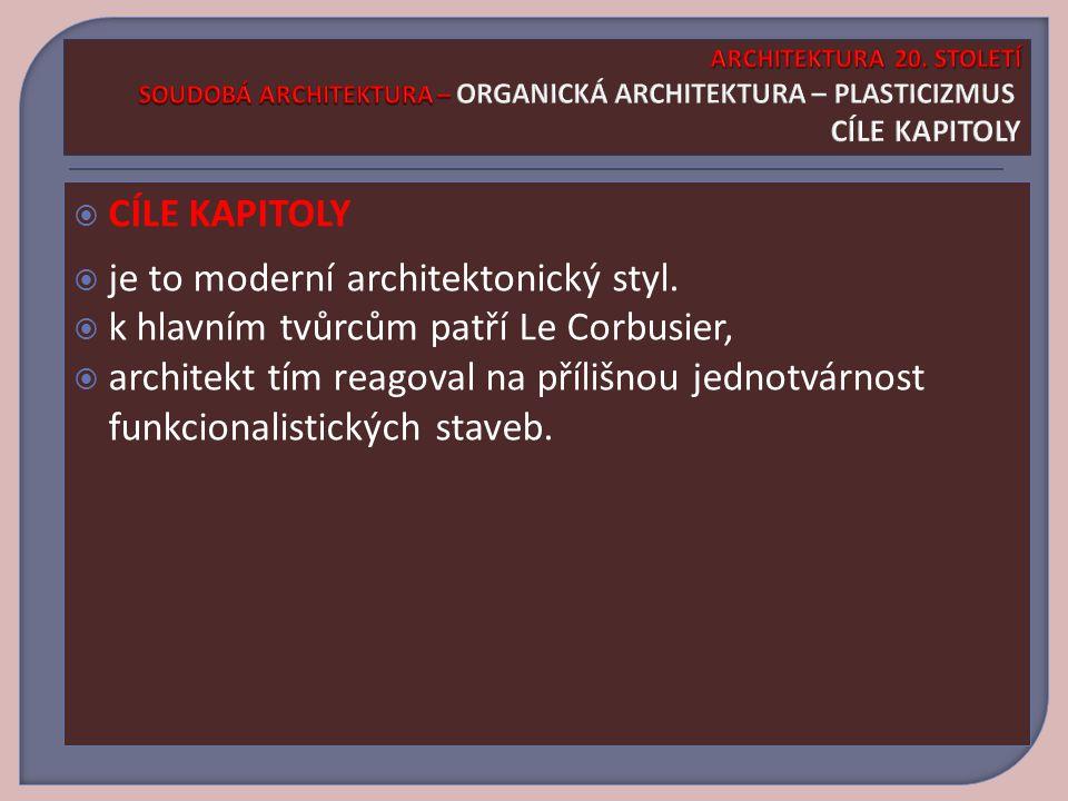 ARCHITEKTURA 20.STOLETÍ SOUDOBÁ ARCHITEKTURA – OPERA V SYDNEY ARCHITEKTURA 20.