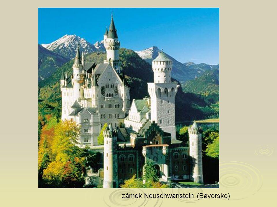 zámek Neuschwanstein (Bavorsko)