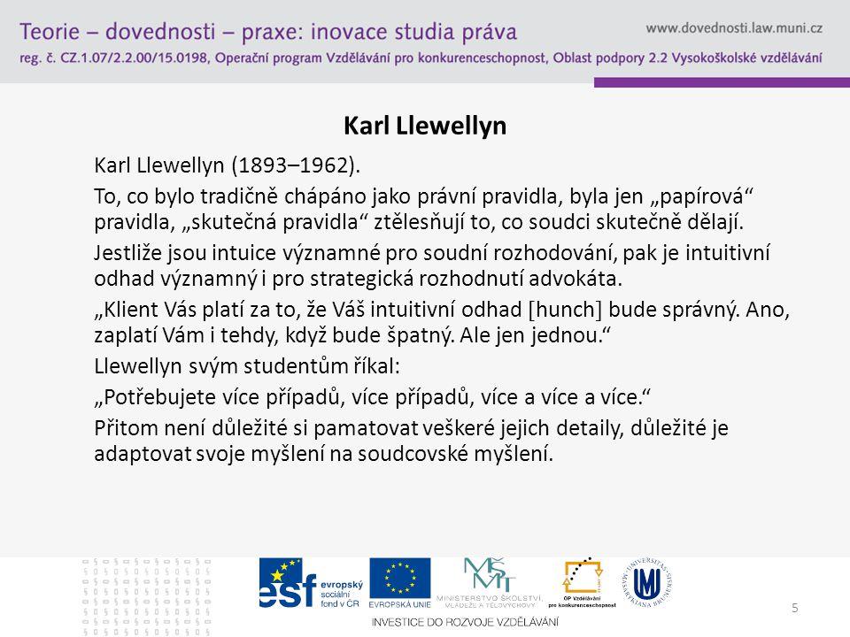 5 Karl Llewellyn Karl Llewellyn (1893–1962).