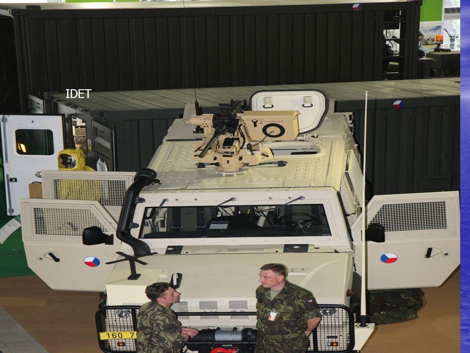 IDET Brno, vojenská obranná a bezpečnostní technika IDET Brno, vojenská obranná a bezpečnostní technika IDET