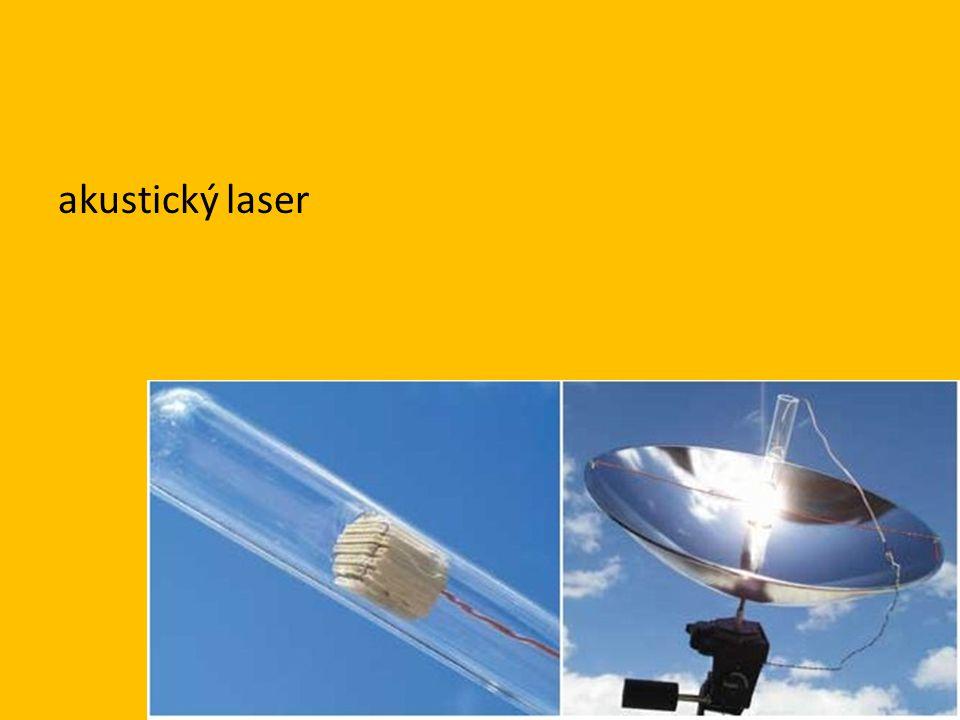 akustický laser