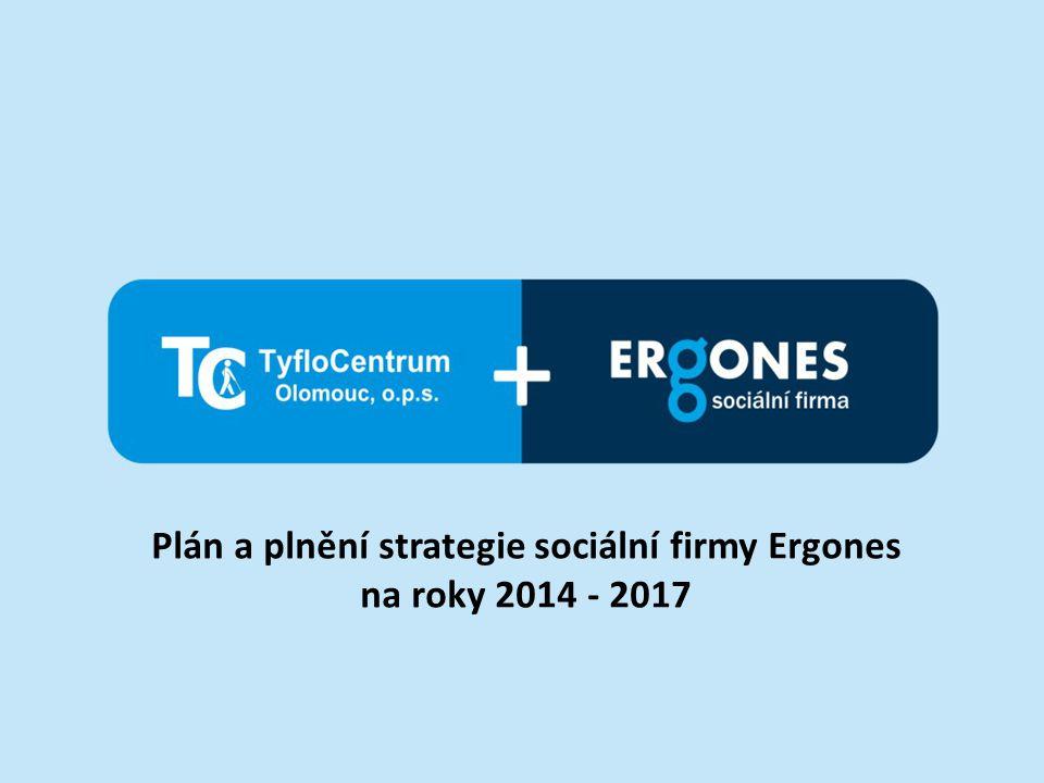 Ergones – sociální firma Vznik sociální firmy v roce 2011.