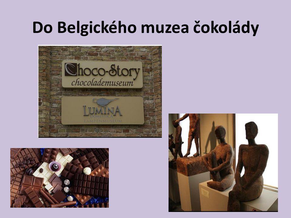 Do Belgického muzea čokolády