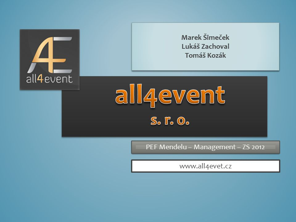 CO JE ALL4EVENT.