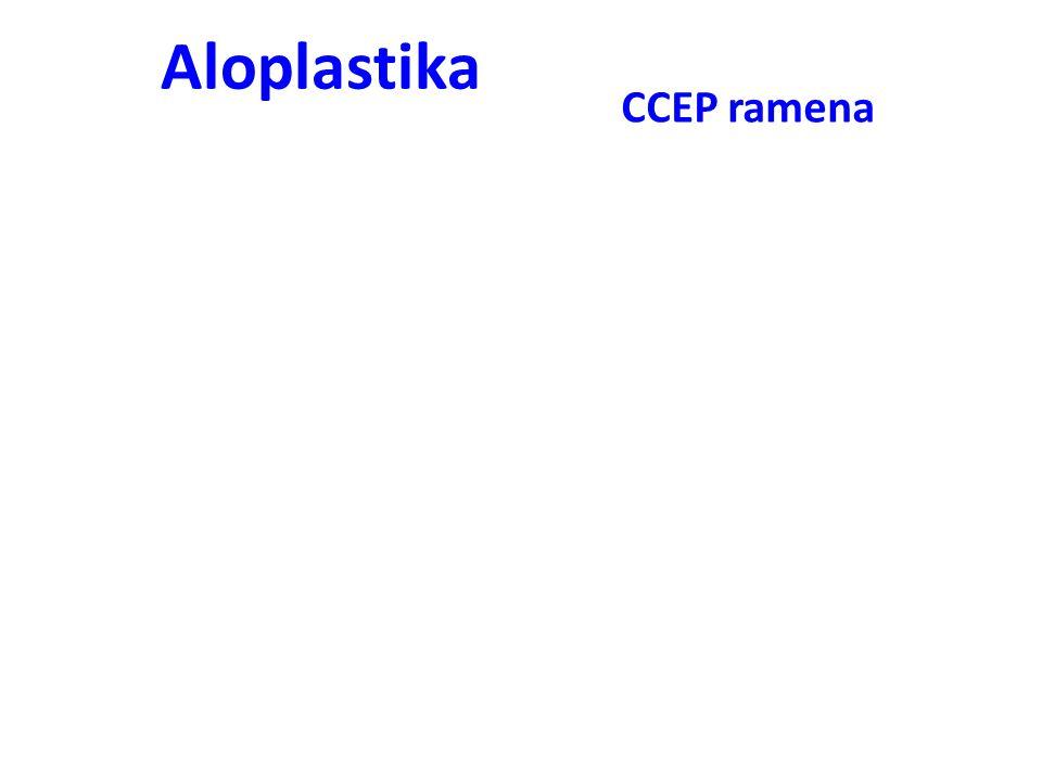 Aloplastika CCEP ramena