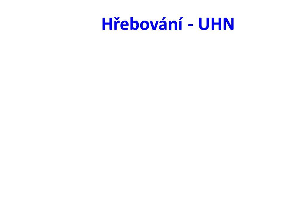 Hřebování - UHN