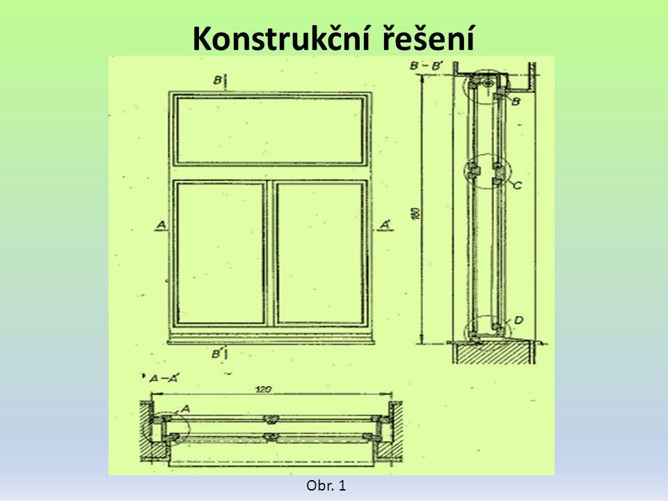 Konstrukční řešení Obr. 1