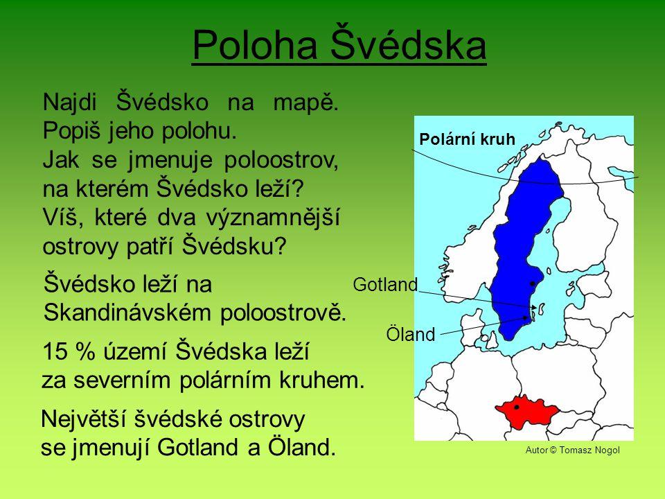 Poloha Švédska Polární kruh Najdi Švédsko na mapě.
