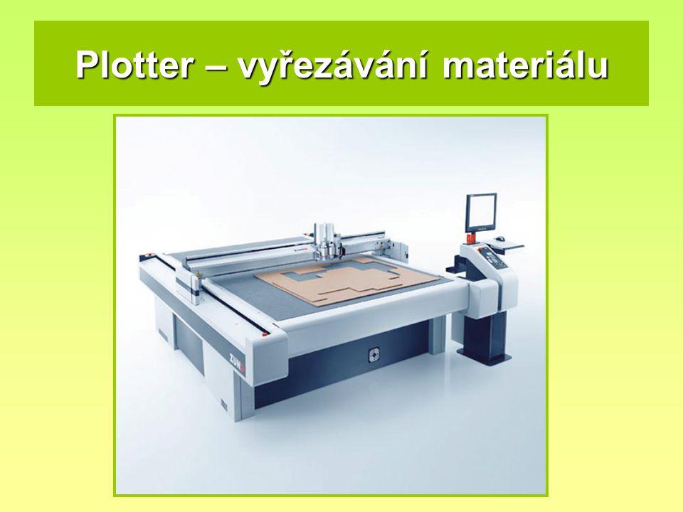 Plotter – vyřezávání materiálu