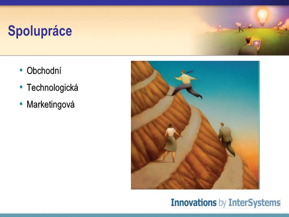Spolupráce Obchodní Obchodní Technologická Technologická Marketingová Marketingová