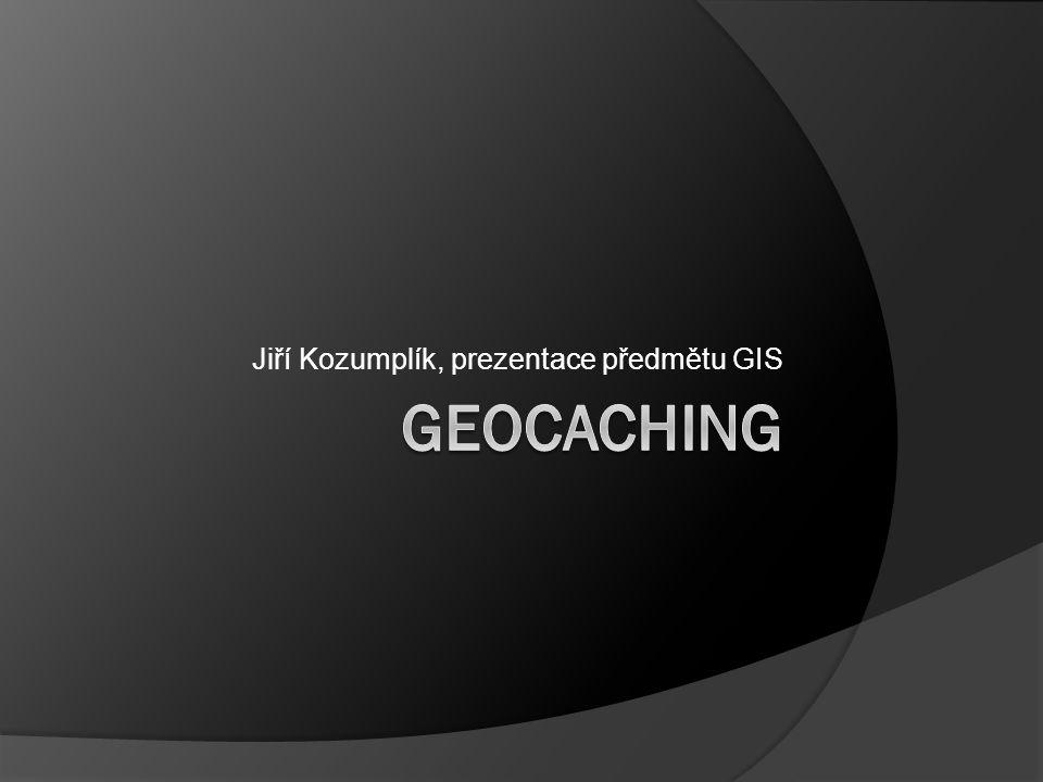 Jiří Kozumplík, prezentace předmětu GIS