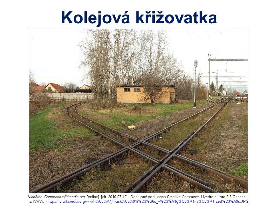 Kolejová křižovatka Kiskőrös. Commons.wikimedia.org [online]. [cit. 2010-07-19]. Dostupný pod licencí Creative Commons Uveďte autora 2.5 Geenric na WW