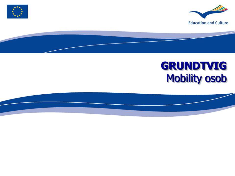 GRUNDTVIG Mobility osob