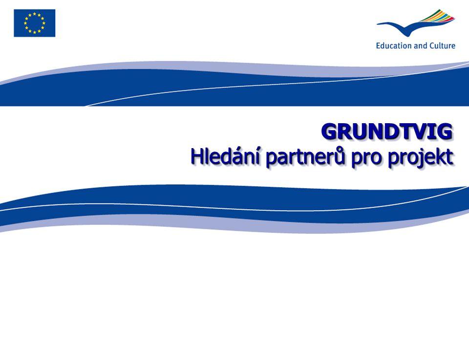 GRUNDTVIG Hledání partnerů pro projekt
