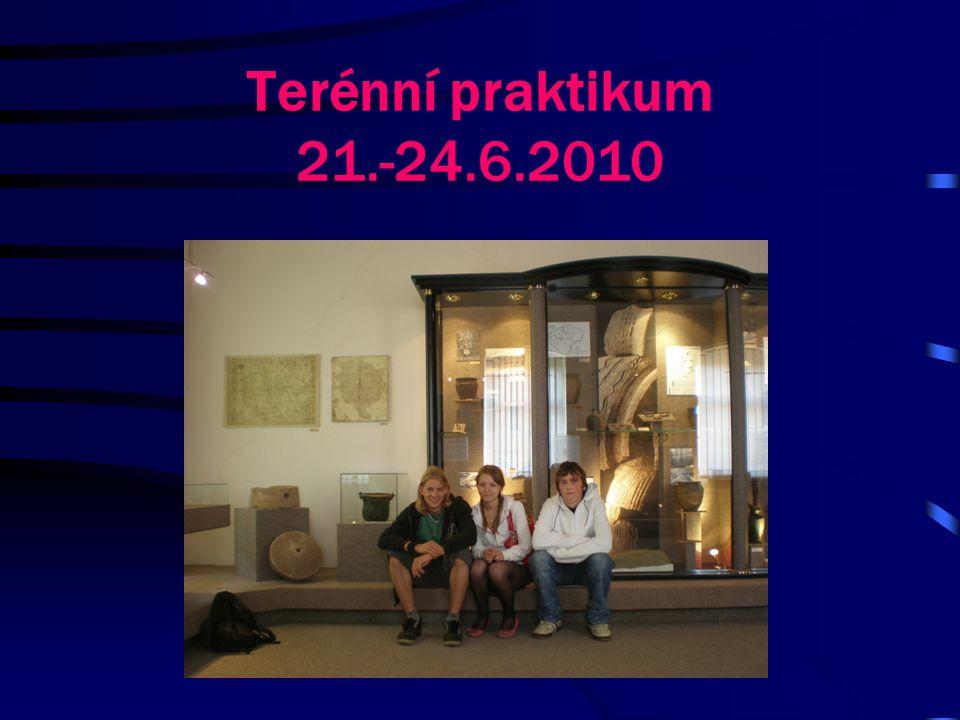 Terénní praktikum 21.-24.6.2010