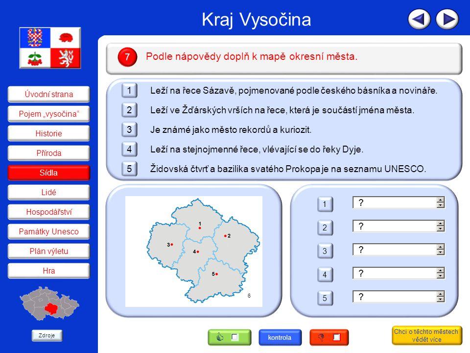 Přírodní podmínky rozptýlily obyvatele Kraje Vysočina do více než tisíce sídel, která jsou propojena hustou sítí silnic.