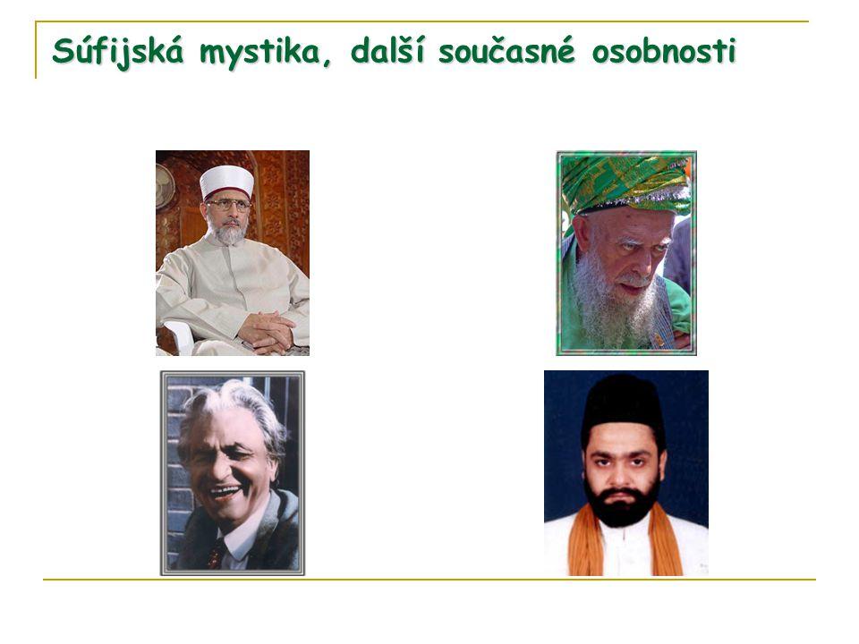 Súfijská mystika, další současné osobnosti