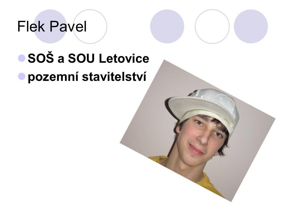 Flek Pavel SOŠ a SOU Letovice pozemní stavitelství