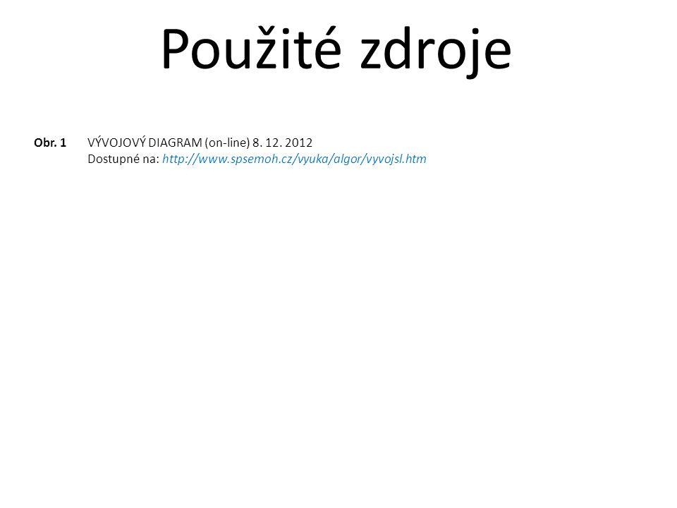 Obr. 1VÝVOJOVÝ DIAGRAM (on-line) 8. 12.