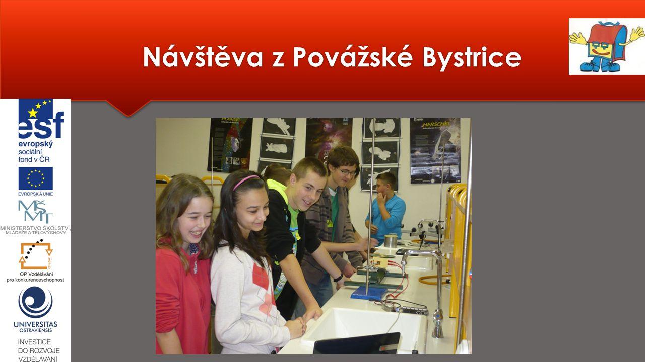 Návštěva z Povážské Bystrice