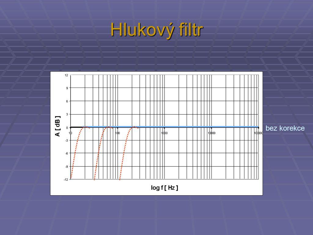 Hlukový filtr bez korekce