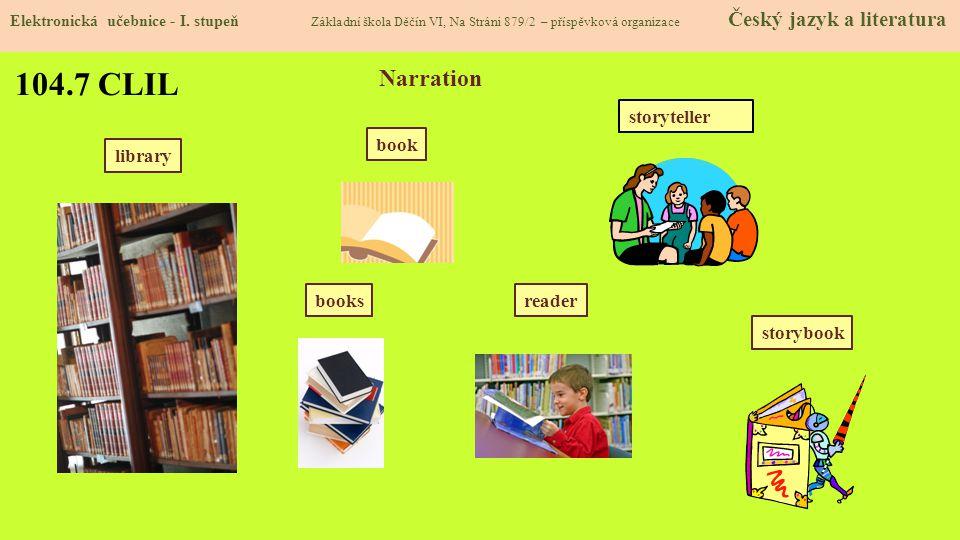 104.8 Test znalostí Správné odpovědi: 1.c 2.b 3.a 4.a Test na známku Elektronická učebnice - I.