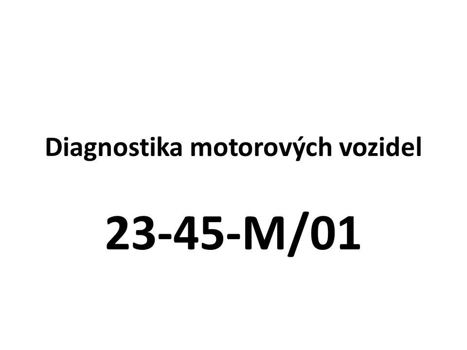 Diagnostika motorových vozidel 23-45-M/01