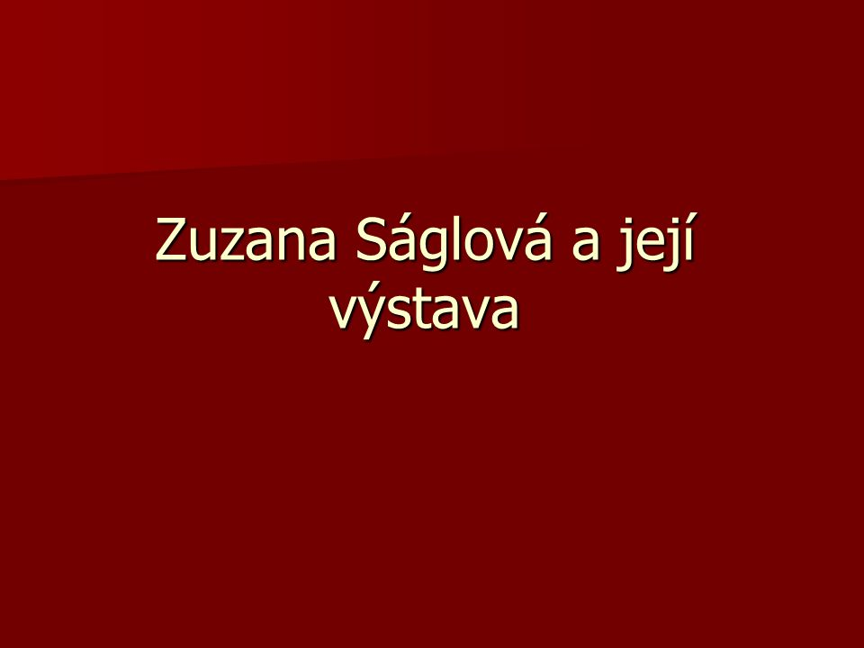 Slečna Zuzana začala malovat v CDS Duhovka v souvislosti se soutěží o nejlepší obrázek na Výroční zprávu Společnosti Duha 2009.