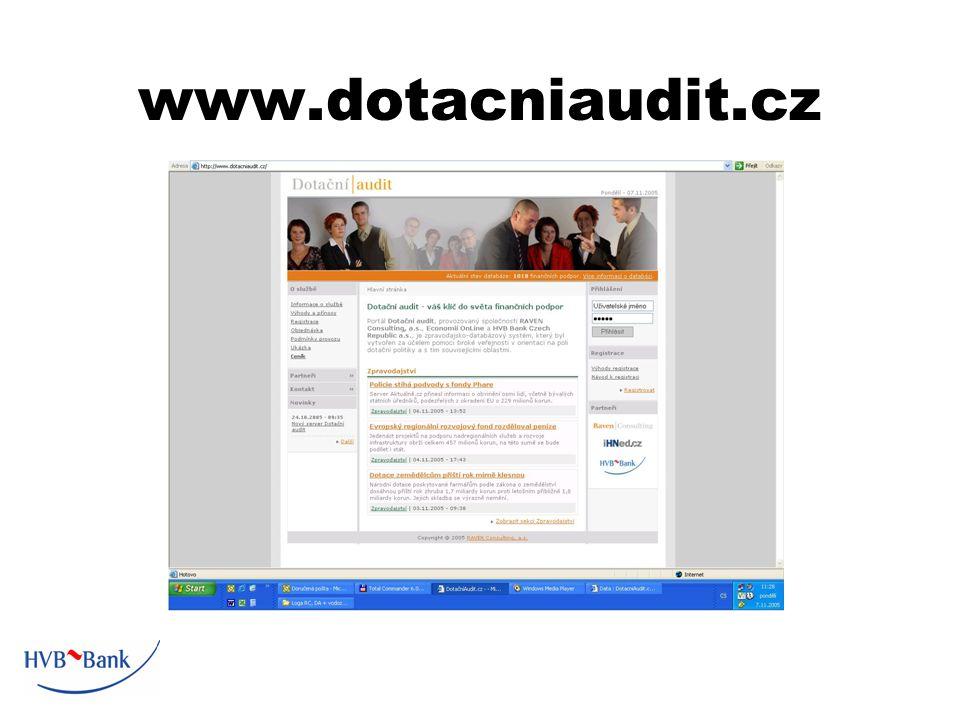 www.dotacniaudit.cz