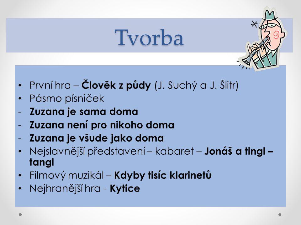 Osobnosti J.Suchý a J.